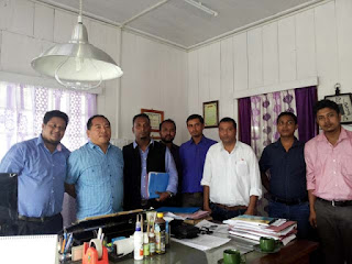 Darjeeling Indigenous Scheduled Caste Welfare Association met Cinchona director Dr Samuel Rai