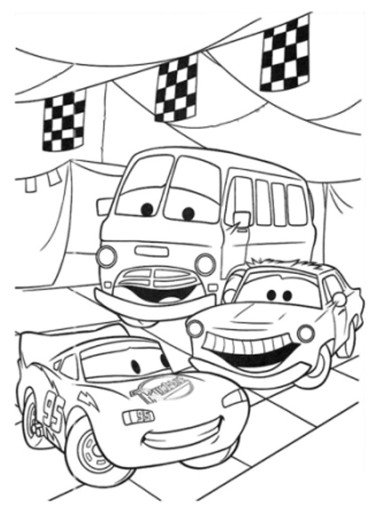 disney car coloring pages - photo#23