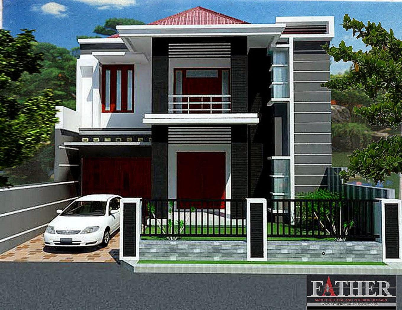 Gambar Rumah Tingkat Minimalis  Design Rumah Minimalis