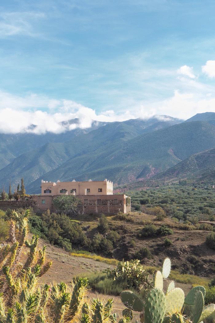 Promenade à Ouirgane au Maroc