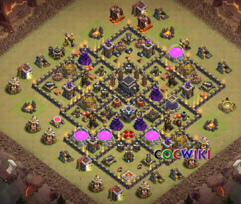 coc level 9 design