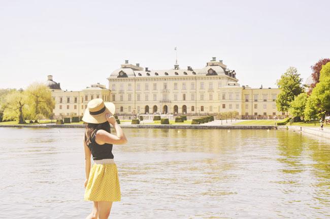 Best Stockholm Instagram Spots - Drottningholm palace