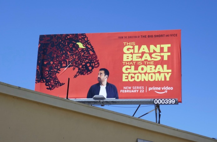 Giant Beast that is the Global Economy billboard