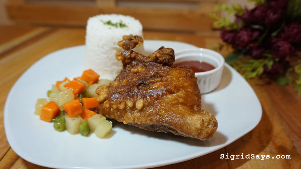 Squad Bistro - Bacolod restaurants - fried chicken