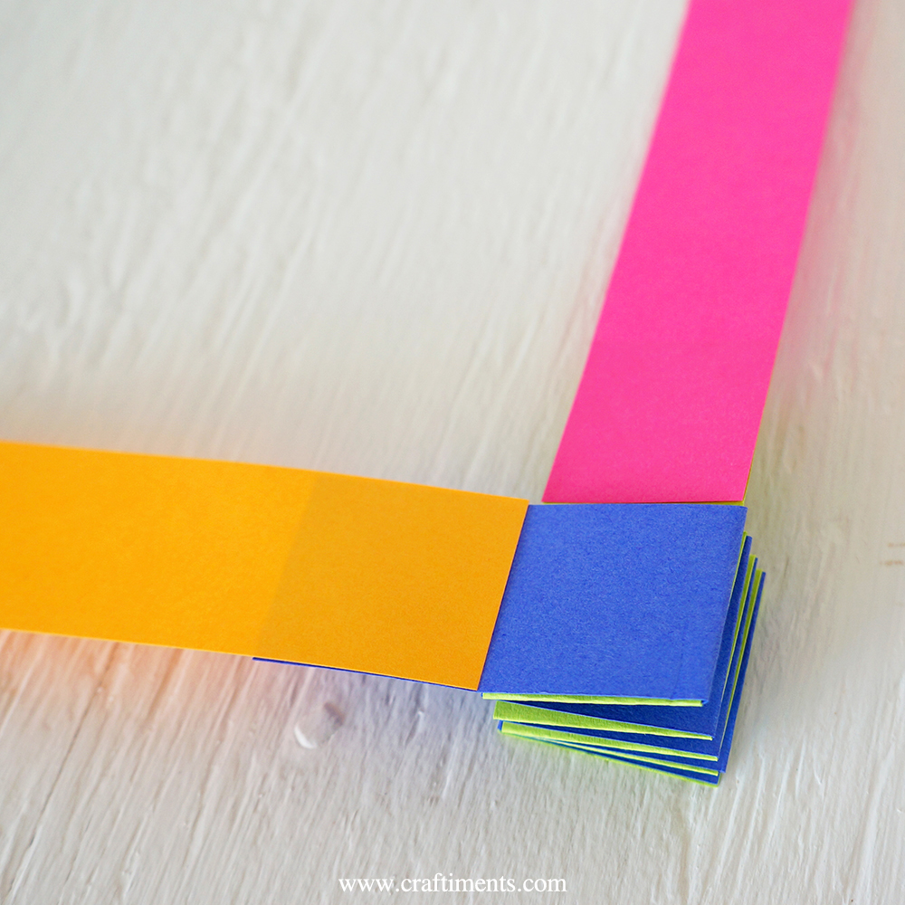 glue paper strips