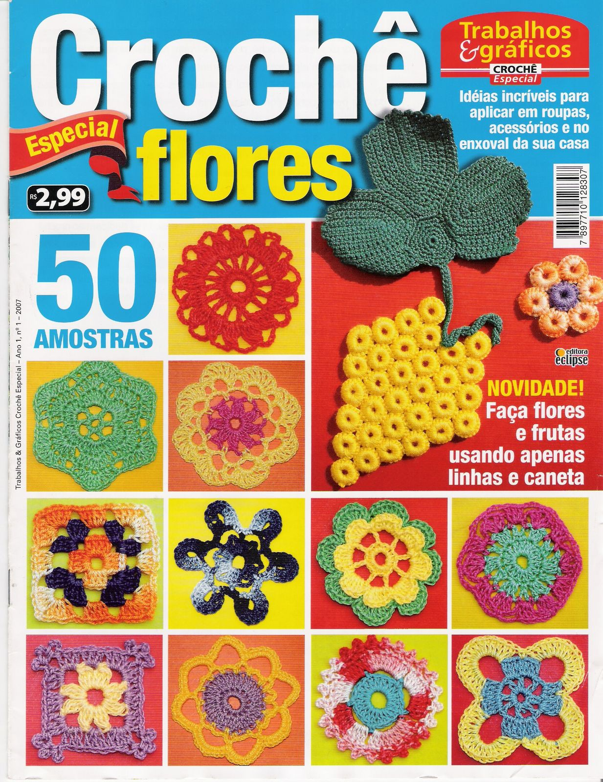 Libro de Flores de Crochet (2)