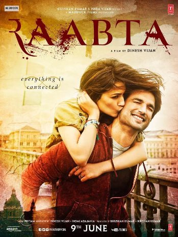 full cast and crew of bollywood movie Raabta 2016 wiki, Sushant Singh Rajput and Kriti Sanon story, budget, release date, Actress name poster, trailer, Photos, Wallapper, Raabta hit or flop