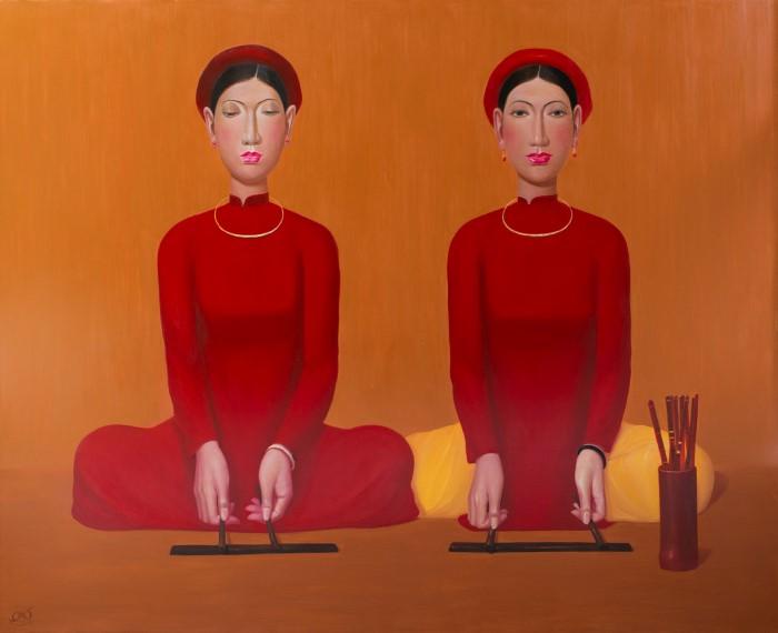 Вьетнамский художник
