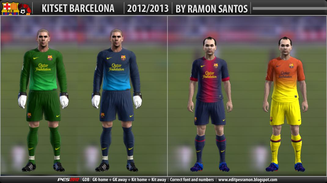 Uniforme Barcelona 2012-13