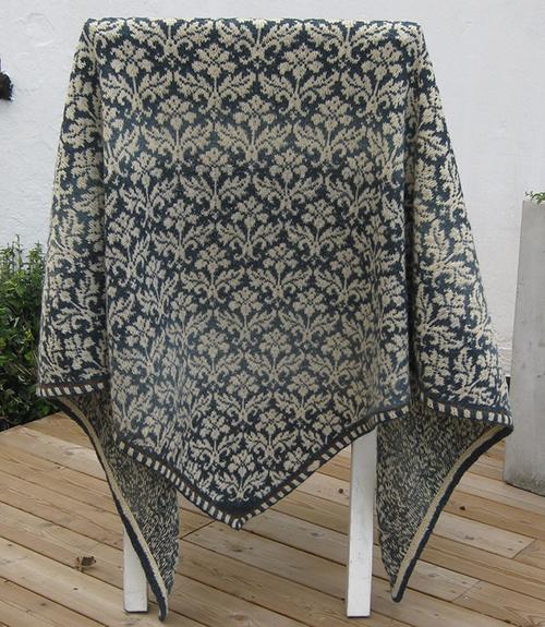 Thistle shawl