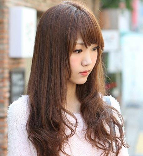 GRACEFUL HAIR MAKEOVER: How Asian Ladies' Rock Fringe Hair Do