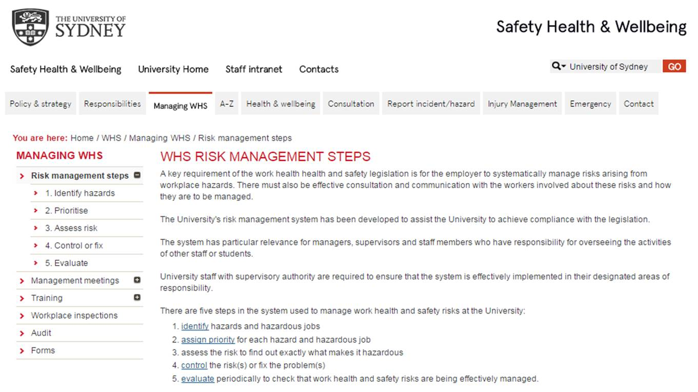 shc 3 4 health safety risk 71 compare different uses of risk assessments in health and social care risk assessment can be used in a number of different ways for example two ways.