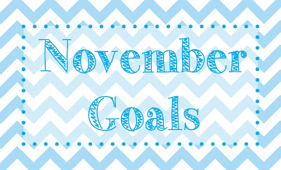 Momentarily Dreaming Monthly Mini Goals Novemeber