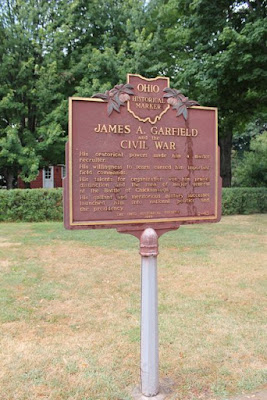 James A. Garfield Ohio Historical Marker