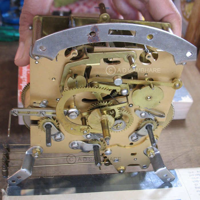 A Watchmaker's Diary: Smiths Mantle Clock