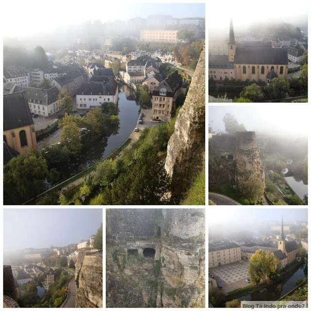 Patrimônios da Humanidade pela UNESCO - Cidade de Luxemburgo