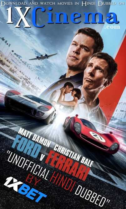 Ford v Ferrari 2019 Hindi ORG Dual Audio 550MB BluRay 480p ESubs