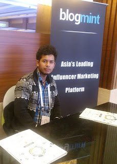 Amit - infiblogger at iamai awards