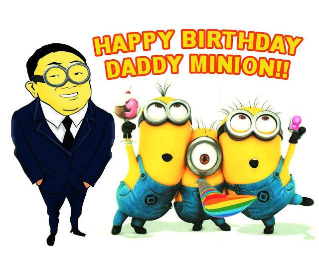 Happy Birthday DAD Minions Images