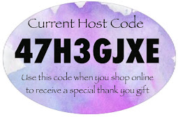 Shop online with me & I'll spend you a gift when you use this Host code 47H3GJXE