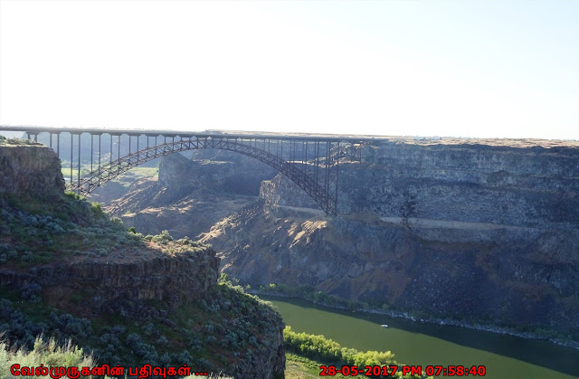 Perrine Memorial Bridge - Snake River Canyon