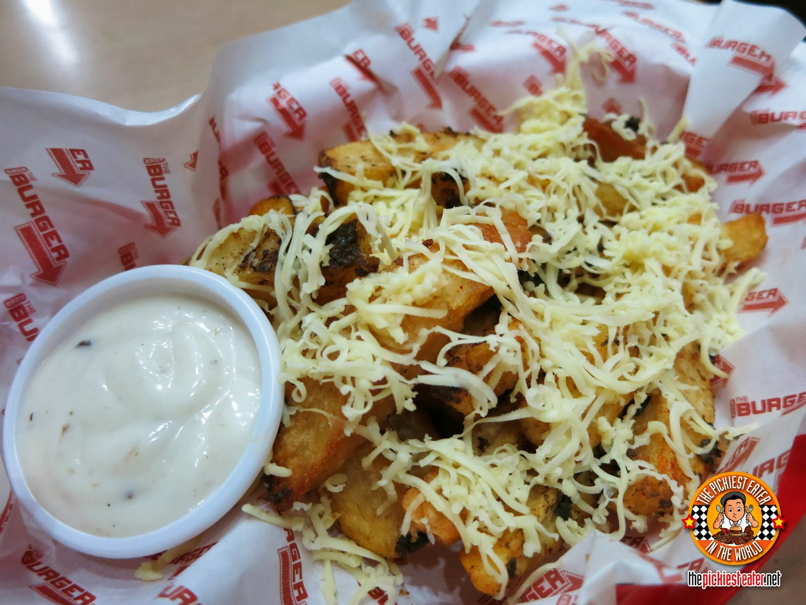 BRGR Project Makati truffle fries