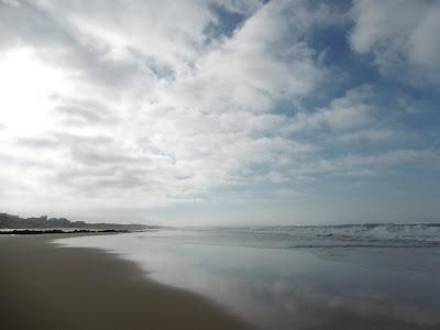 Juste avant de repartir...Lacanau beach, malooka