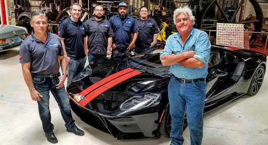Jay Leno Takes Delivery Of His 2017 Ford GT