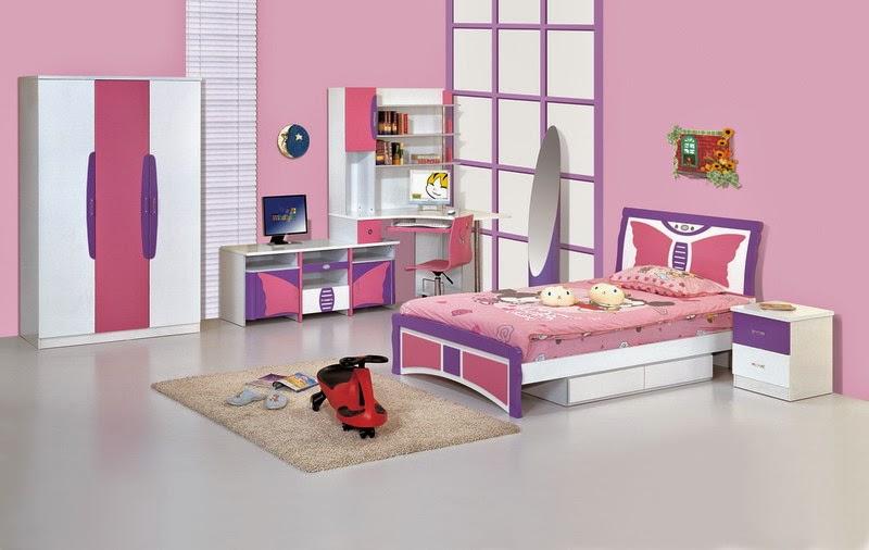 10 dormitorios color rosa para ni a dormitorios colores - Muebles habitacion nina ...