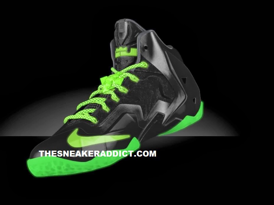 new concept 08bd8 90918 Here is some preview images of the NIKEiD Lebron 11 XI Sneaker that is  retailing from 250-280 depending on options picked, no word on a release  date but ...