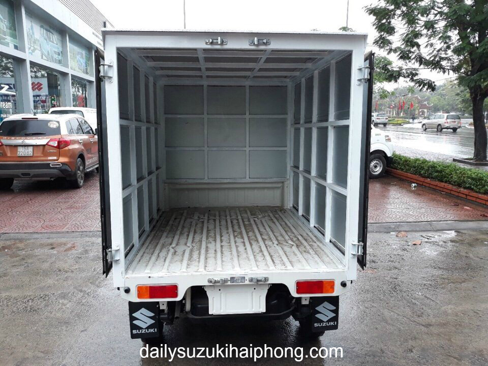 gia xe 500kg suzuki tại hải phòng thùng kín