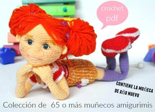 amigurimis a crochet, colección amigurimis, juguetes ganchillo,