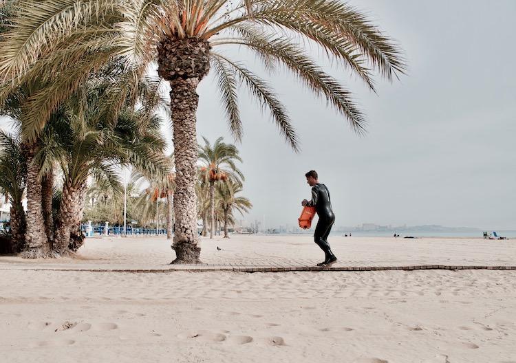 Alicante plaże del Postiguet