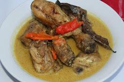 Ayam Panggang Kari Spesial