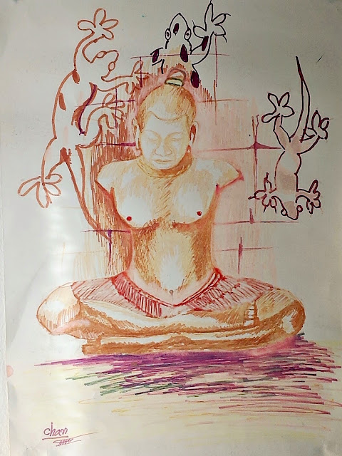 One of the paintings we bought at Colors of Cambodia in Siem Reap