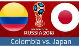 منتخب اليابان يفوز على نظيره الكولومبى بهدفين لهدف فى الجولة الأولى من نهائيات كأس العالم روسيا 2018