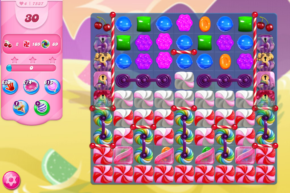 Candy Crush Saga level 7537