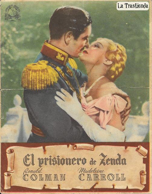 Programa de Cine - El Prisionero de Zenda - Ronald Colman - Madeleine Carroll