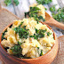 VEGAN MASHED POTATOES WITH GARLICKY KALE