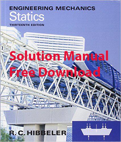 Mechanics pdf engineering edition statics 11th