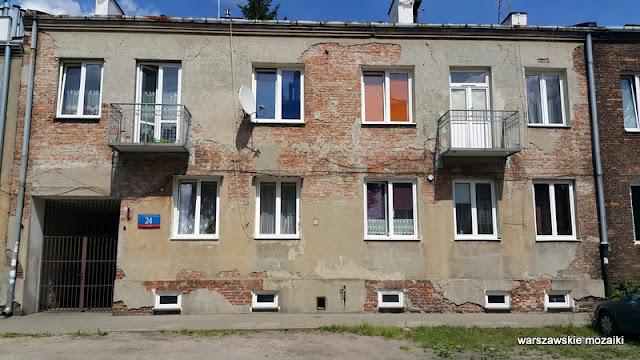 Warszawa Warsaw Kamionek Praga Południe kamienice ulice