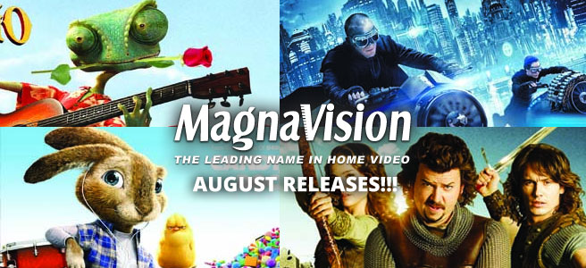 Magnavision August 2011 Release: HOP, PRIEST, RANGO, FAST FIVE, YOUR