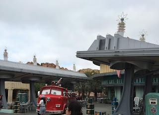 Red Flo's Disney California Adventure