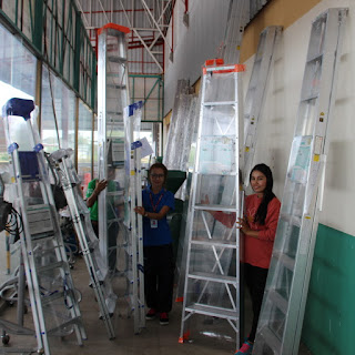 Buriram Isaan Heavy Duty Step Ladders