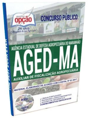 Apostilas Auxiliar de Fiscalização Agropecuária AGED-MA