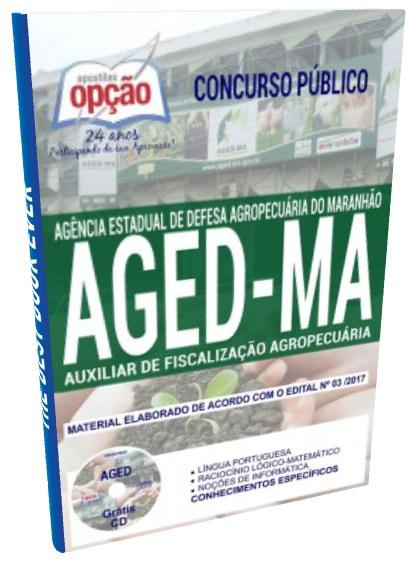 Apostila Concurso Público Aged/MA - Defesa Agropecuária do Maranhão