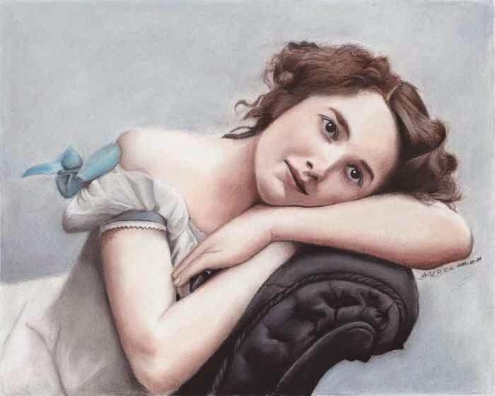 Чилийский художник. Ariel R. G. H.