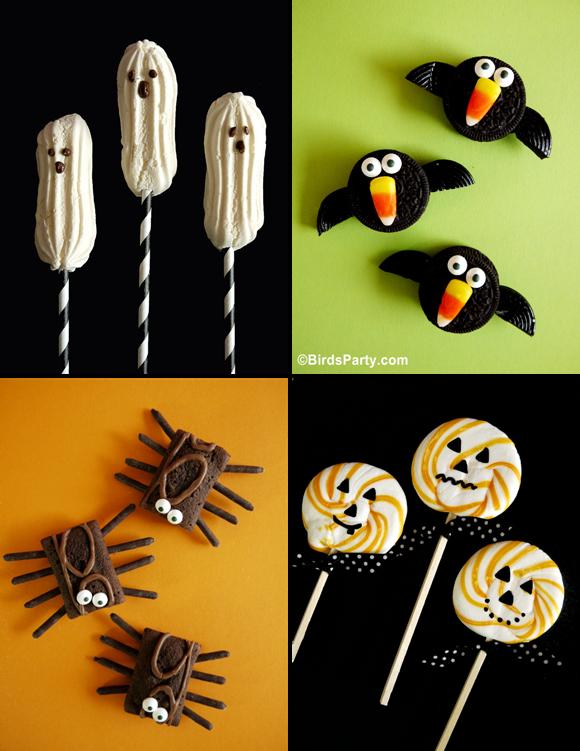 Dessert & Gourmandises d'Halloween SANS CUISSON | BirdsParty.fr