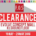 19 - 29 May 2016 FOS Clearance Event