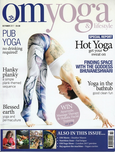 The Minimalist Translator I Am In Om Yoga Magazine This Month